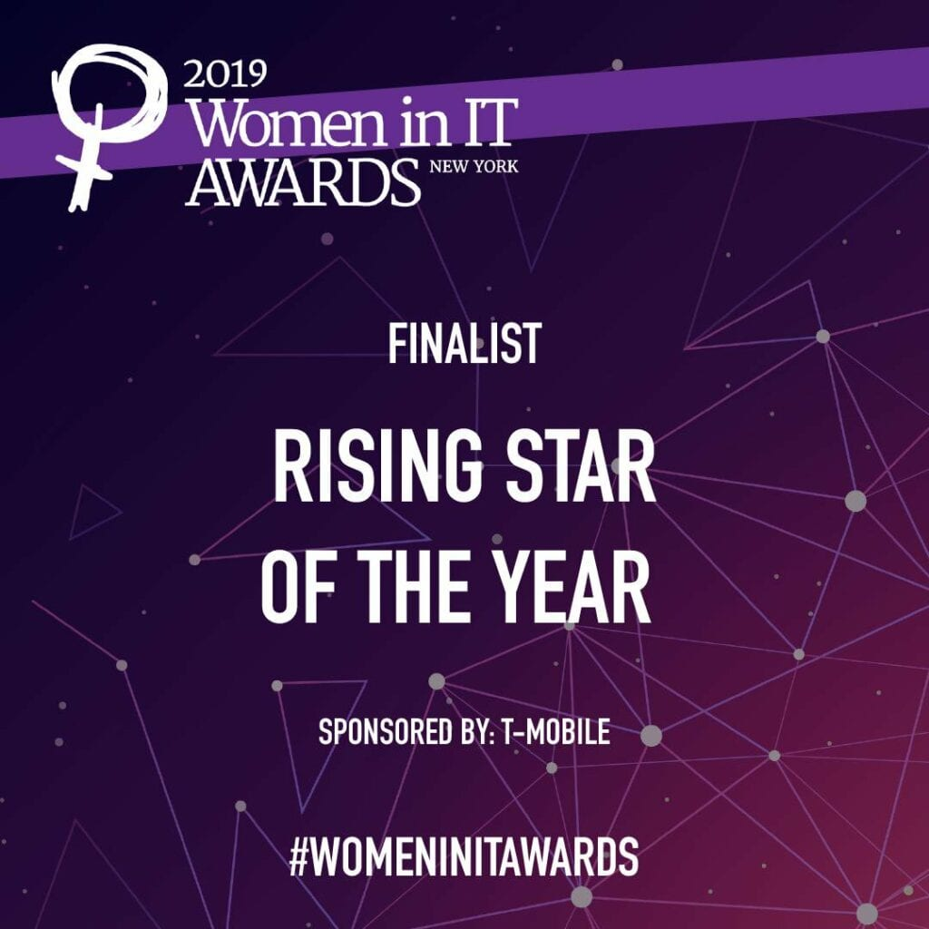 Women In IT Rising Star of the Year